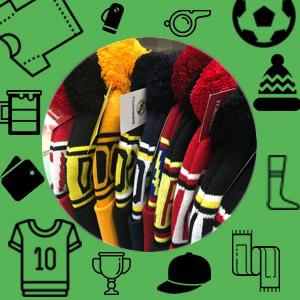 Футбольные шапки