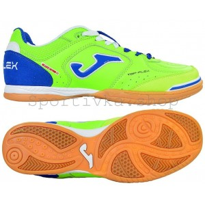 Футзалки Joma top flex салатовые
