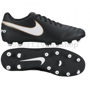 Бутсы Nike tiempo rio черные