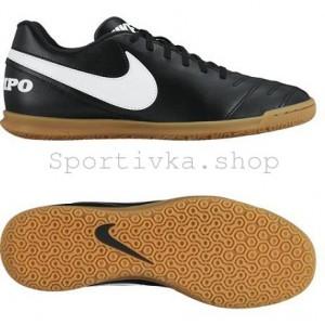 Футзалки Nike tiempo rio чорные