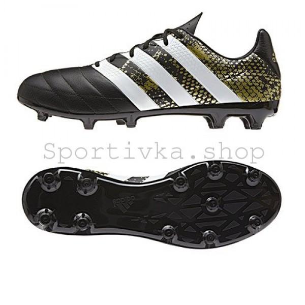 72427d221b3513 Футбольні бутси Adidas ACE 16.3 Leither FG купити недорого в Києві ...