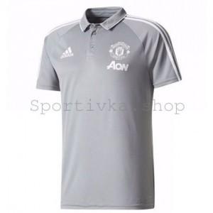 Футболка Manchester United c воротником