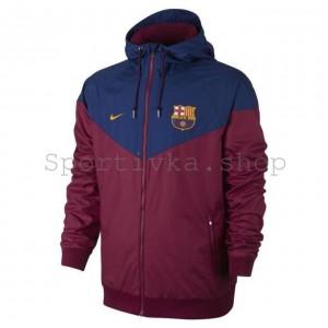 Спортивная кофта Barcelona сине-гранатовая