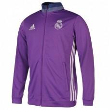 Олимпийка Реал Мадрид фиолетовая
