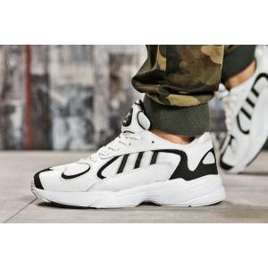 Белые кроссовки Adidas Yung-1