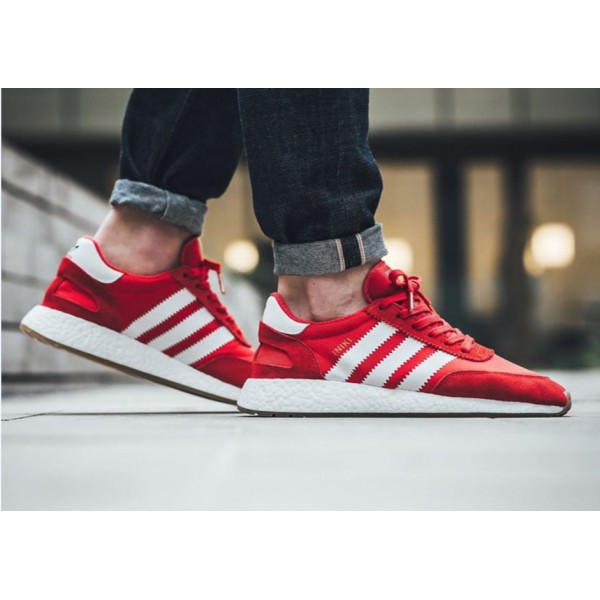 09d642df Мужские кроссовки Adidas Iniki Runner Red купить в Киеве и Украине