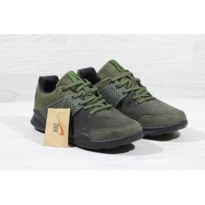 Замшеві кросівки Nike Air Presto Green