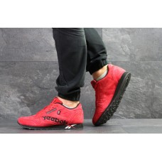 Замшевые кроссовки Reebok Classic (красные)