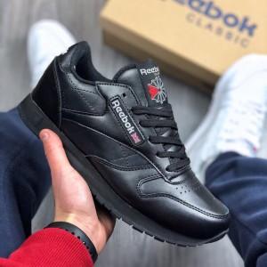 Кроссовки Reebok Classic (черные)
