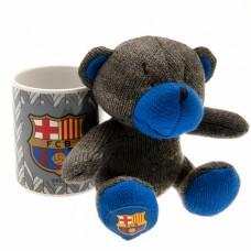 Набор чашка + мягкая игрушка Барселона