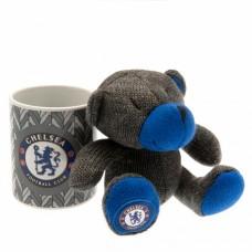 Набор чашка + мягкая игрушка Челси