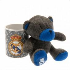 Набор чашка + мягкая игрушка Реал Мадрид
