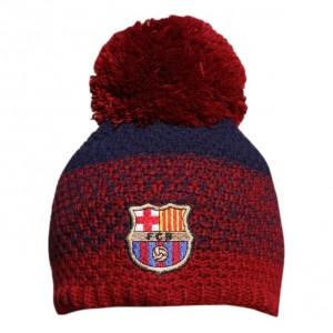 вязаная детская шапка FC Barcelona