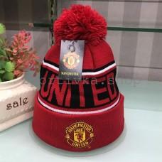 Шапка Манчестер Юнайтед с балабоном