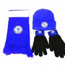 Шарф, шапка і рукавички ФК Челсі