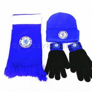 Шарф, шапка и перчатки ФК Челси