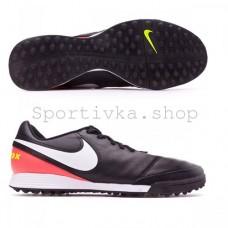 Сороконожки Nike Tiempo Genio чорні
