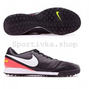 Сороконожки Nike Tiempo Genio черные