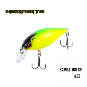 Воблер Megabite Samba 100 SP 23