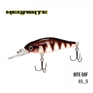 Воблер Megabite Bite 50 F A_9