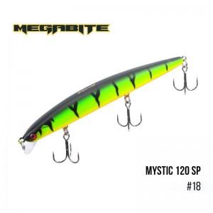 Воблер Megabite Mystic 120 SP 18