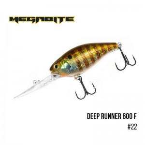 Воблер Megabite Deep Runner 600 F 22