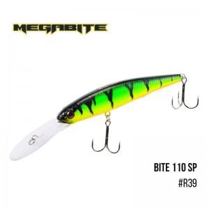 Воблер Megabite Bite 110 SP R39