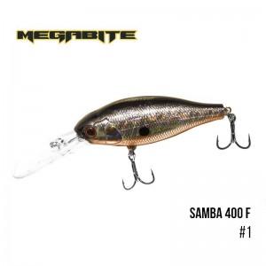 Воблер Megabite Samba 400 F 1