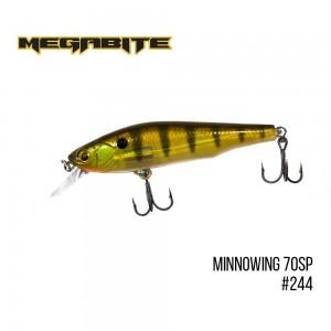 Воблер Megabite Minnowing 70 SP 244