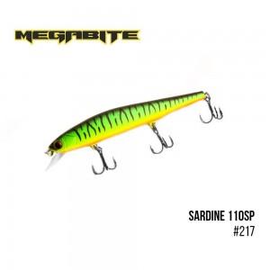 Воблер Megabite Sardine 110SP 217