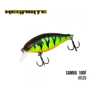 Воблер Megabite Samba 100 F R39