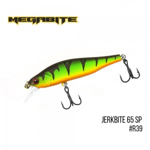 Воблер Megabite Jerkbite 65 SP R39