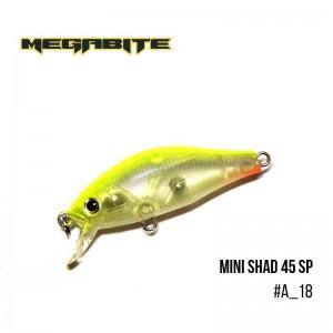 Воблер Megabite Mini Shad 45 SP A_18
