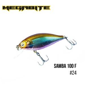 Воблер Megabite Samba 100 F 24