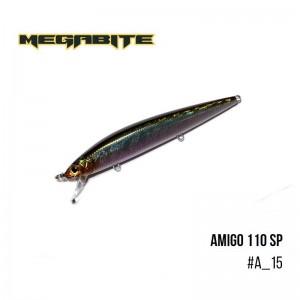 Воблер Megabite Amigo 110 SP A_15