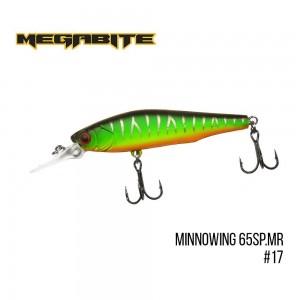 Воблер Megabite Minnowing 65 SP MR 17