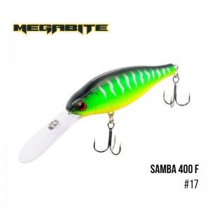 Воблер Megabite Samba 400 F 17