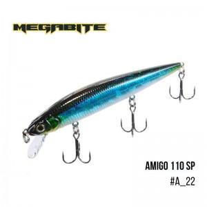 Воблер Megabite Amigo 110 SP A_22