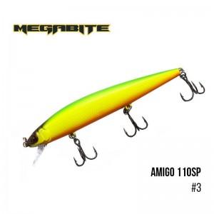 Воблер Megabite Amigo 110 SP 3