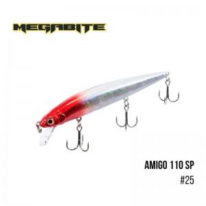 Воблер Megabite Amigo 110 SP 25