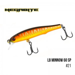 Воблер Megabite LB Minnow 60 SP 21