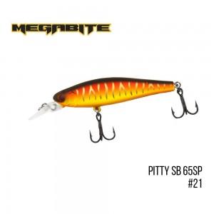 Воблер Megabite Pitty SB 65 SP 21