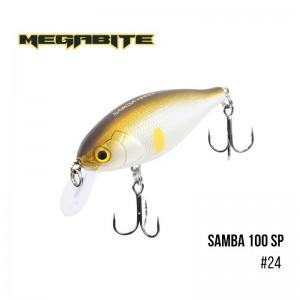 Воблер Megabite Samba 100 SP 24