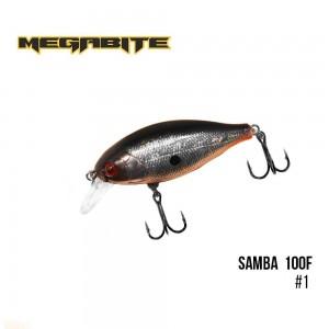 Воблер Megabite Samba 100 F 1