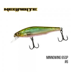 Воблер Megabite Minnowing 65 SP 6