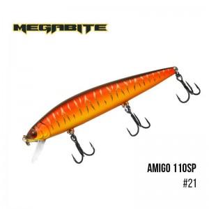 Воблер Megabite Amigo 110 SP 21