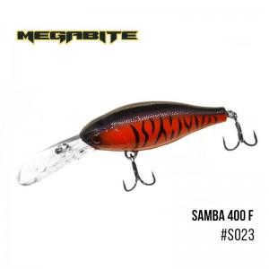Воблер Megabite Samba 400 F S023