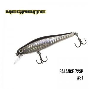 Воблер Megabite Balance 72 SP 31