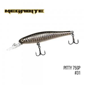 Воблер Megabite Pitty 75 SP 31