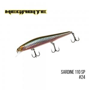Воблер Megabite Sardine 110SP 24